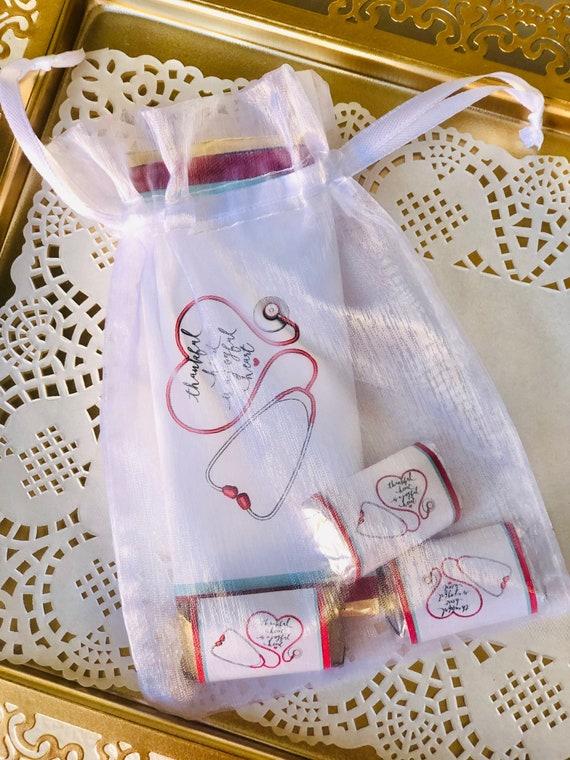 Nurses Week Mini Gift Set, International Nurses Week Chocolate set, Nurses Day Chocolate gift, Nurses International Week gift set. Set of 1.