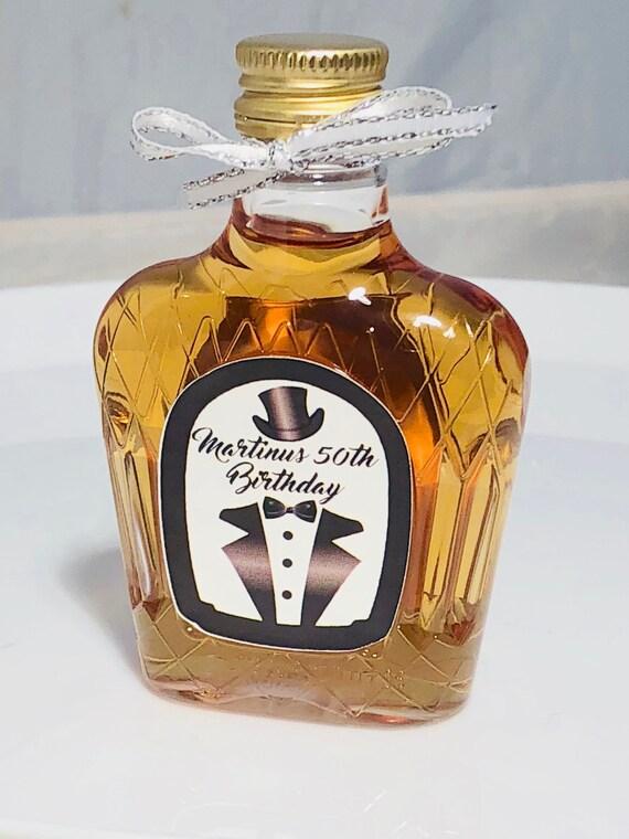 Small liquor bottle labels, Black tie event mini liquor bottles. Whiskey mini bottle labels. Tuxedo mini liquor labels. Set of 12 labels.