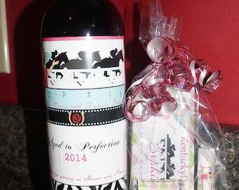 Kentucky Derby Wine Labels, Kentucky Derby party favors, Derby party favors, party favors Kentucky Derby favors, wine labels, Set of 20