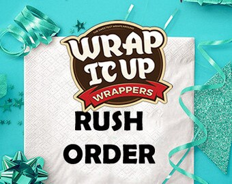 RUSH ORDER. Add this to your cart if you need an order of the same week you placed the order.
