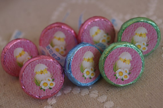 kisses easter labels easter kisses easter table favors etsy
