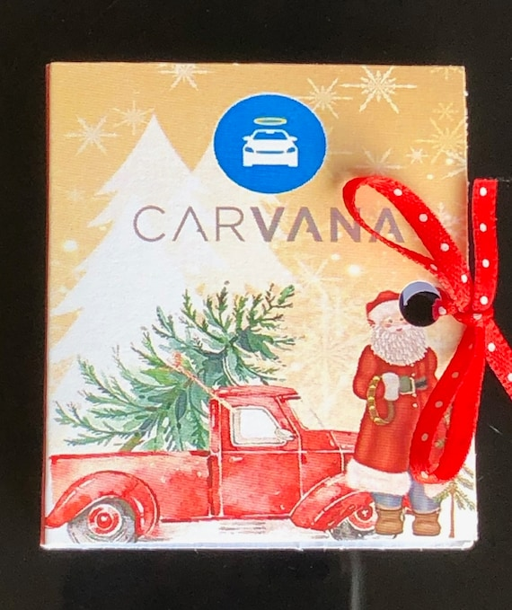 Red Truck Christmas Ghirardelli Favors, Red Truck party favors, Red Truck Ghirardelli Squares Matchbook, Red Truck Party Theme. Set of 15