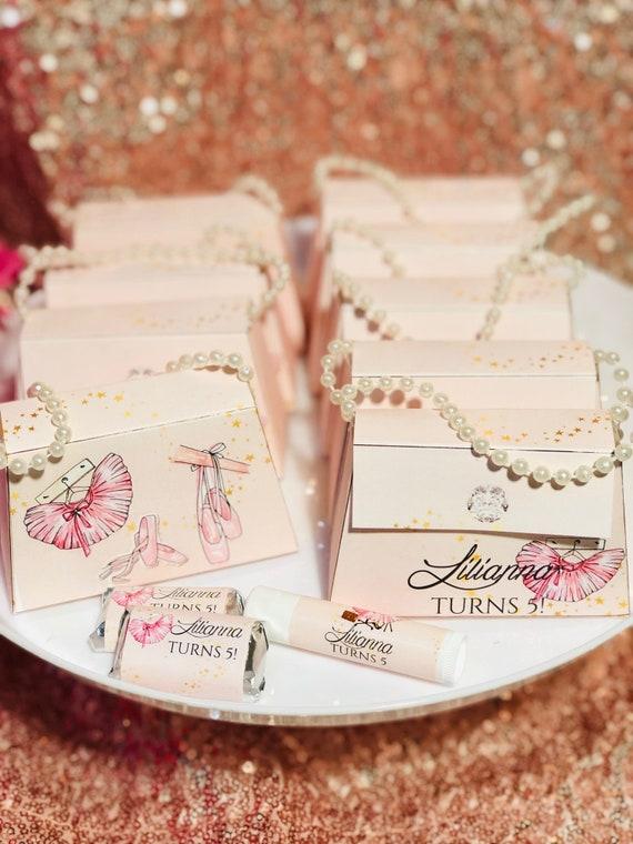 Ballerina Box Purse, Ballerina Party them Box Purse,Purse Favor Box, Ballerina Box Purse Party Favor Set of 10