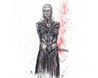 Hellraiser Female 8.5x11 Signed Art Print