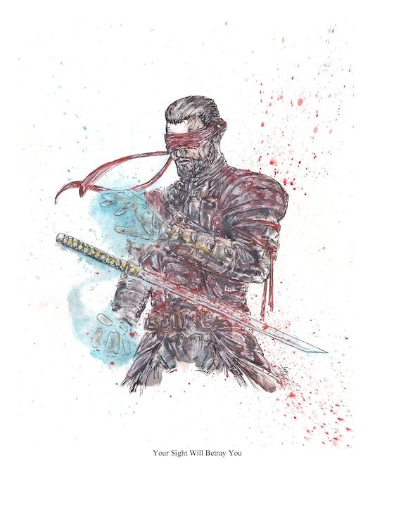 Mortal Kombat Kenshi 8 5x11 Signed Art Print