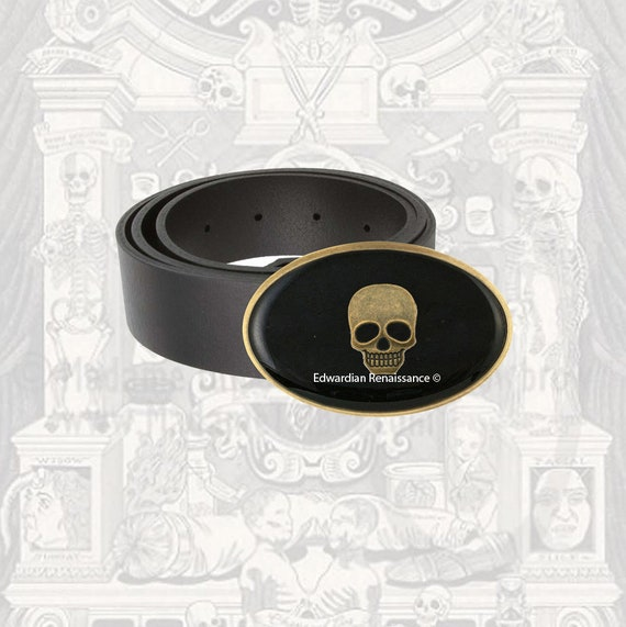 Eine Onyx Schnalle antik 10 mm// black 3 schwarz 5 BOX