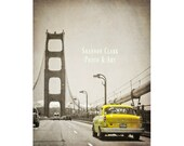 Yellow Vintage Taxi Cab o...