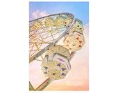 Ferris Wheel photo. Carni...
