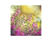 Floral Home Decor. Purple...