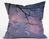 Starry Night Sky Throw Pi...