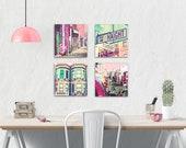 Canvas Wall Art Set.  San...