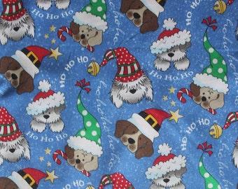 fb8f0a2665c2e Dog Bandana Christmas over the collar