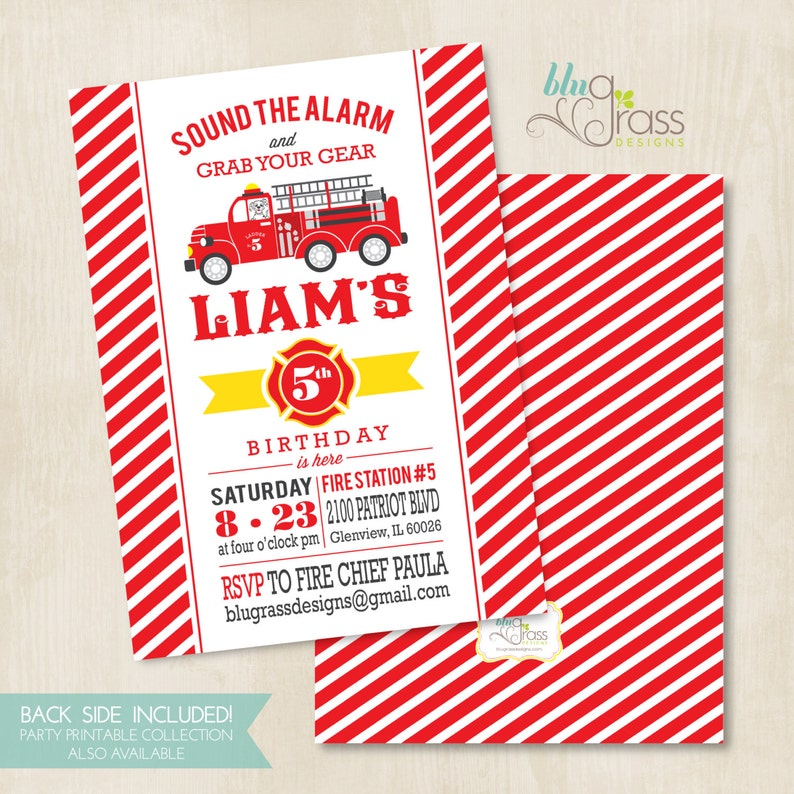 Custom Birthday Party Invitation by Mulberry Paperie  image 0