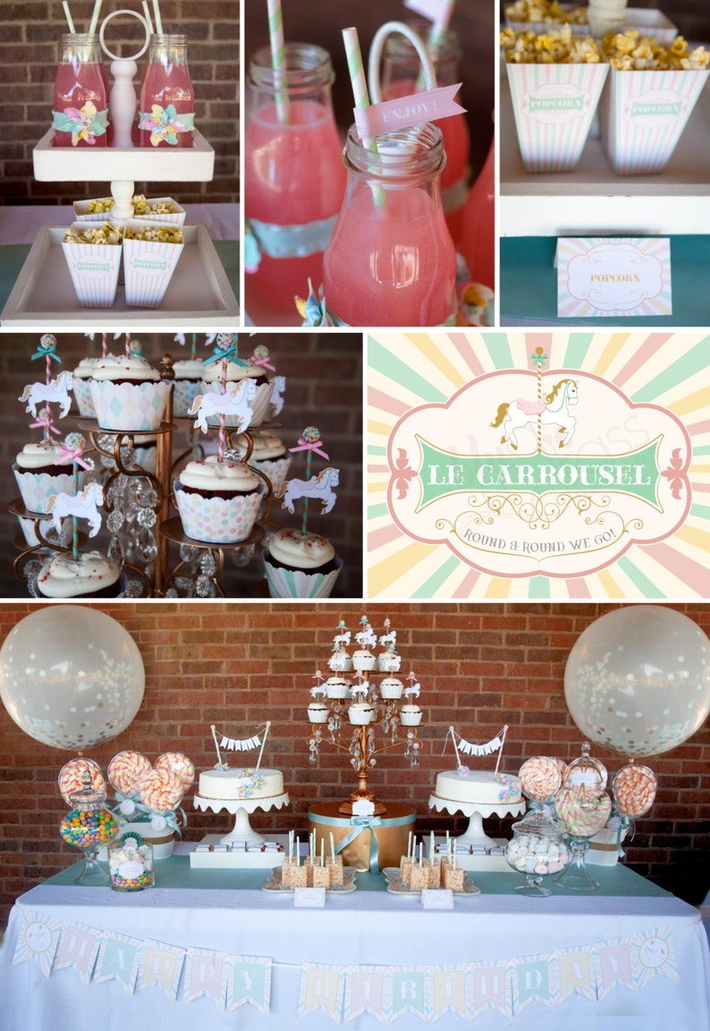 DIY printable baby shower wedding or birthday party package  image 0