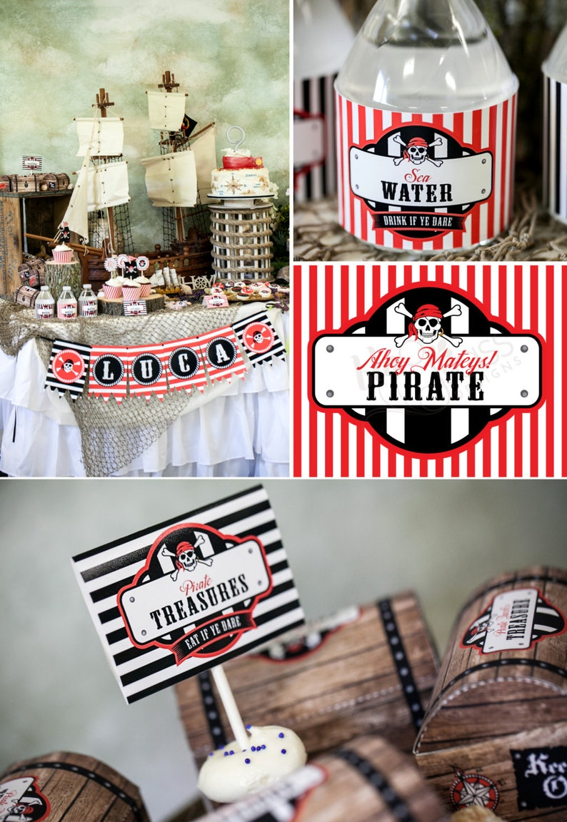 DIY Printable Custom Party Package by BluGrass Designs  image 0