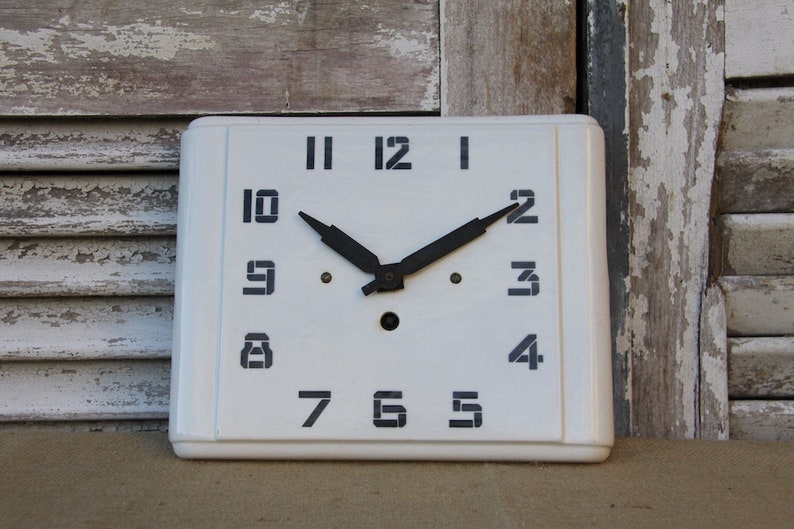 Francais De Cuisine Vintage Horloge Murale Horloge Murale En Etsy