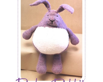 Pudgy Rabbit Pattern : Digital Download