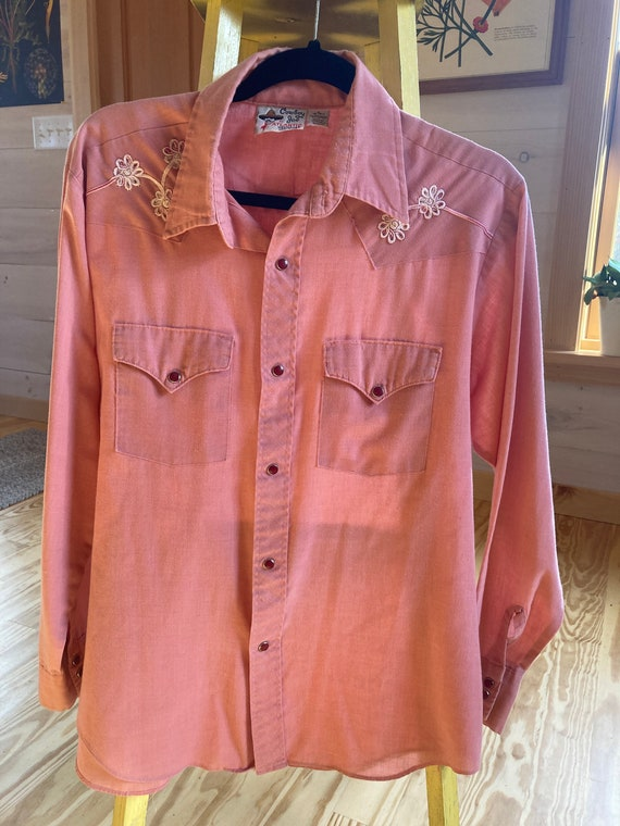 Vintage Cowboy Joe western shirt