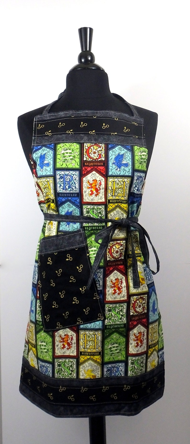 Harry Potter Inspired House Apron
