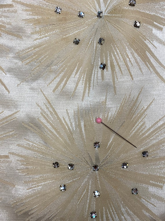 1950s starburst wiggle dress - image 9