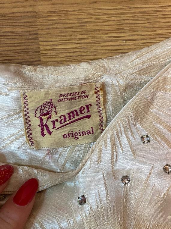 1950s starburst wiggle dress - image 2