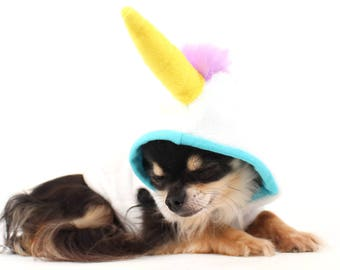 Dog Costume Unicorn dog costume trendy Fleece dog clothes