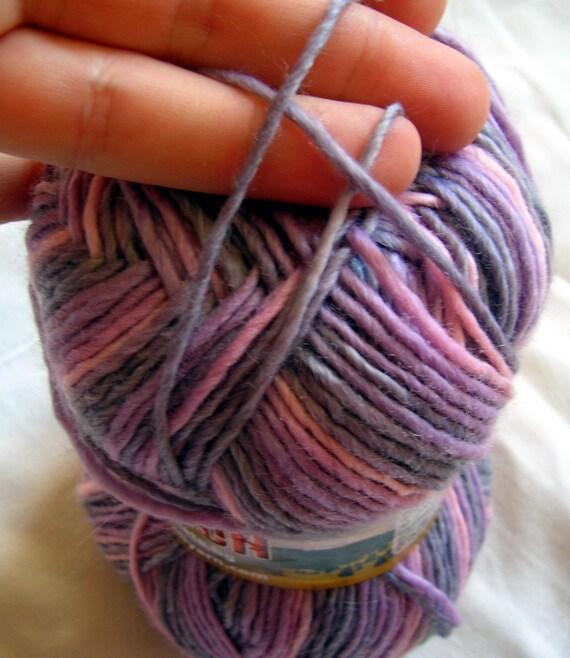 Nobel Art hand dyed Merino Extra Fine Bulky 100 g Strand | Etsy