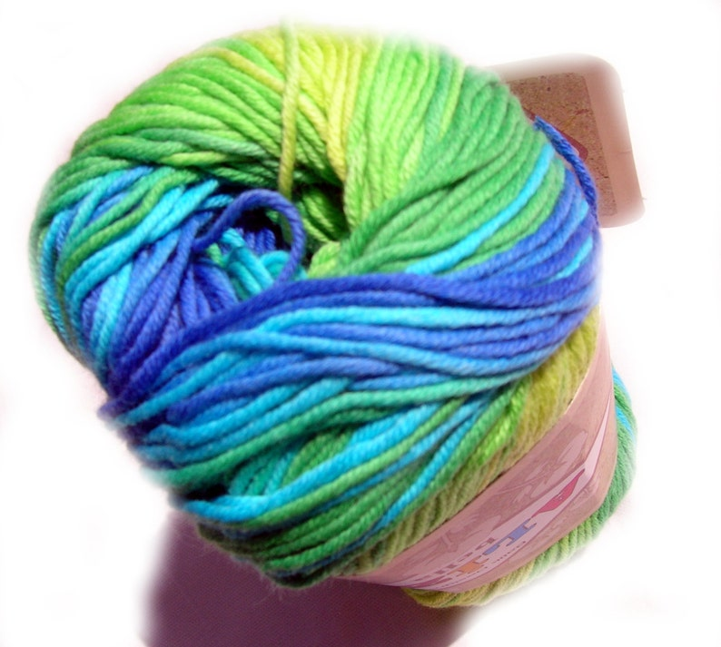Pure Cotton Baby Yarn: Light Weight Alize Bella Batik