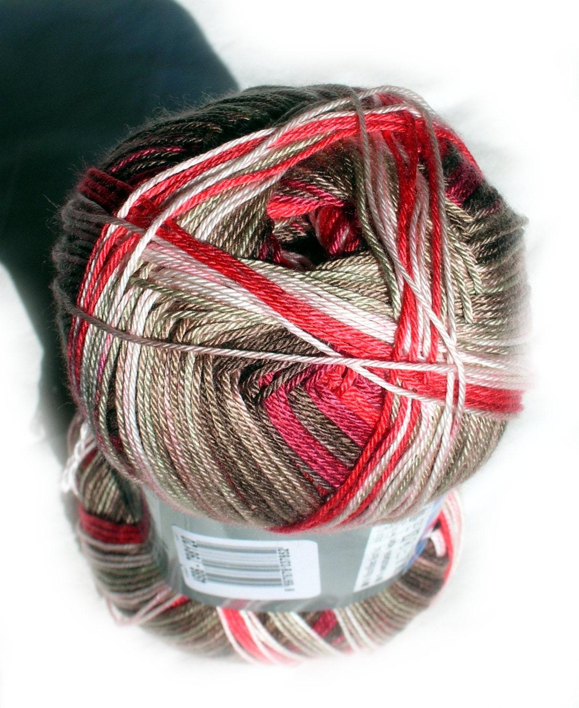 Batik Yarn: Alize Diva Missisipi Batik Design Selfstriping