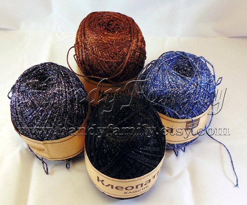 Crochet top summer knits lace DSH P1 02 Glitter Yarn Kleopatra Sparkle yarn color bronze metal yarn lame Viscose metal yarn