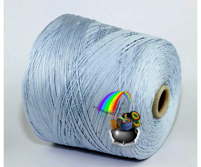 Ecafil Doria Pure Cotton Cone Yarn machineknitting Choose Color DSH 400m 100g Handknitting G