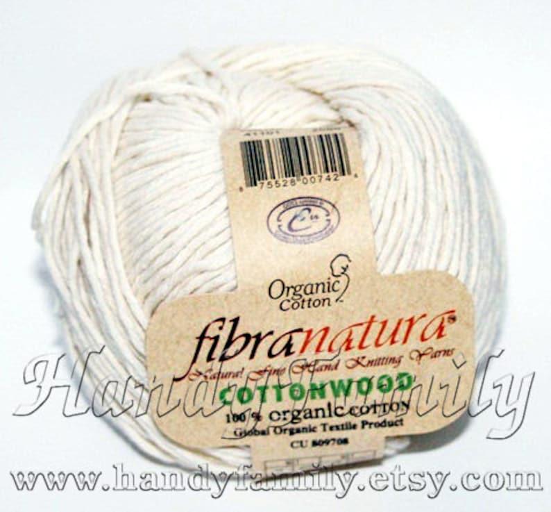 Natural Cotton Hypoallergenic yarn Premie Baby Color Choice DSH Organic Cotton EKO-TEX Cottonwood Cotton Wood yarn by Himalaya Fibra Natura