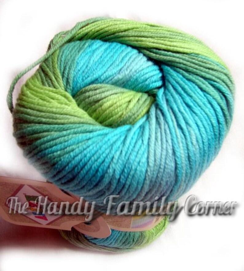 Alize Bella Batik Cotton Baby Yarn. Hypoallergeic