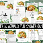 Fiesta Bridal Shower Games - Over 16 - printable - ACTUALLY FUN shower games - Taco Bout Love Bridal Shower Southwestern, Couples TB121