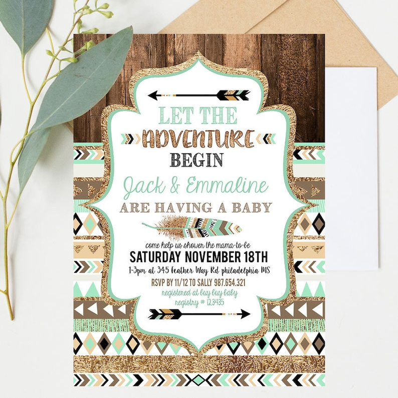 But Theyre Only 12 Why And How To Begin >> Adventure Begins Baby Shower Invitation Boy Adventure Baby Shower Invitation Adventure Begins Invitation Wild Baby Shower Inv