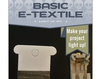 Basic LED e-Textile Sewing Kit