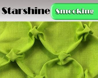 Heirloom Smocking Pattern - 24- Starshine