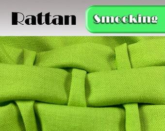 Heirloom Smocking Pattern - 23- Rattan
