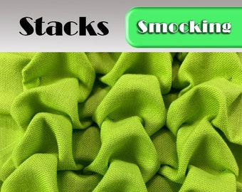 Heirloom Smocking Pattern - 18 - Stacks