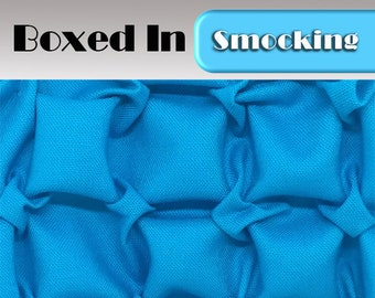 Heirloom Smocking Pattern - 14 - Boxed In