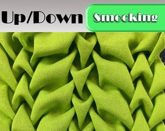 Heirloom Smocking Pattern - 22 - UpDown