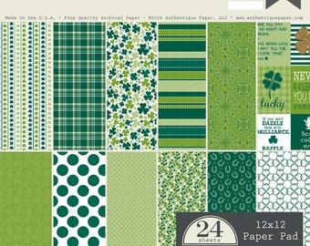 "Authentique Paper Collection ""Emerald"" 12x12 Pad"