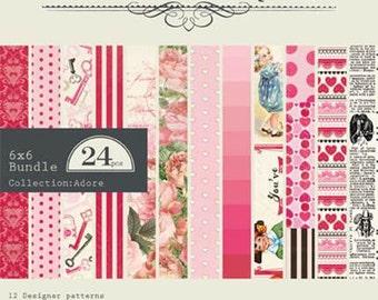 "Authentique Paper Collection ""Adore"" 6x6 Pad"