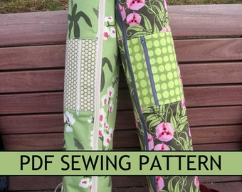 e2b45292f0 Free-Motion Applique Messenger Bag PDF Sewing Pattern