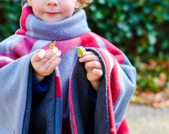 Fleece poncho | Etsy