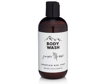 Juniper Mint Body Wash