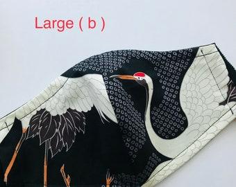 Large crane mask b