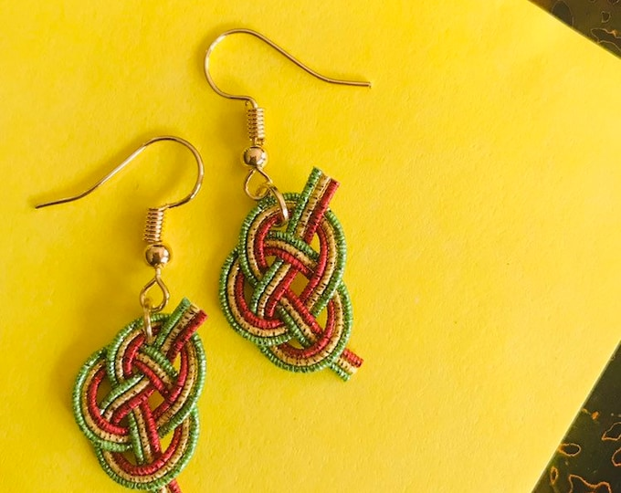 Xmas earrings (dangle)