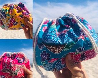 Bingata Shell shape pouch