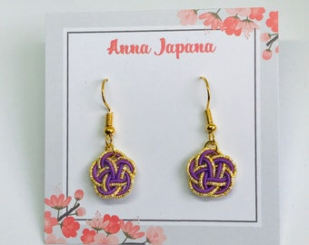 Plum flower (S) purple x gold